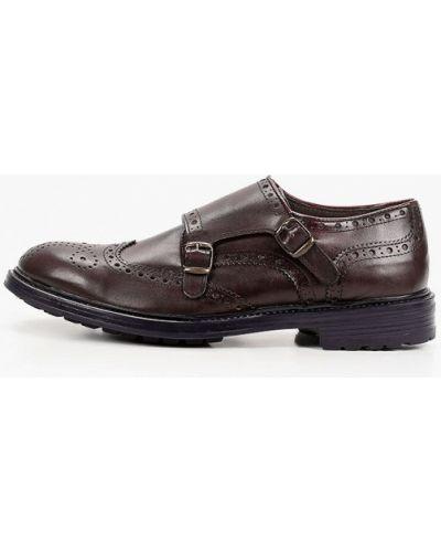 Кожаные красные туфли F.lli Rennella