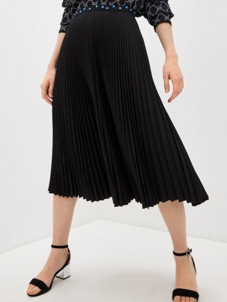 Платье плиссированное черное Markus Lupfer