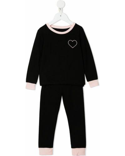Piżama z długimi rękawami - czarna Morgan Lane Mini