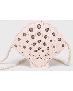 Розовая сумка из искусственной кожи Blukids