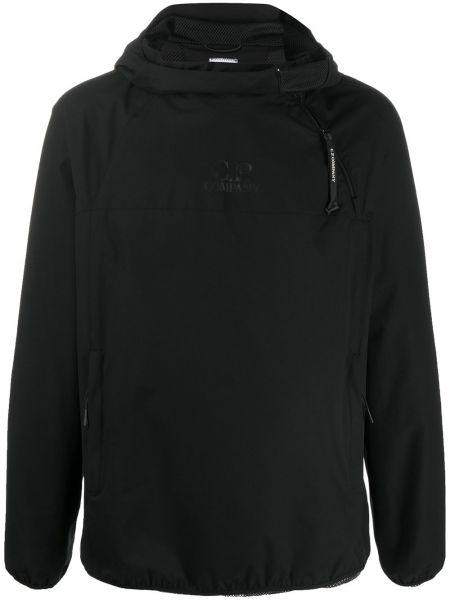 Anorak kurtka z kapturem czarny C.p. Company