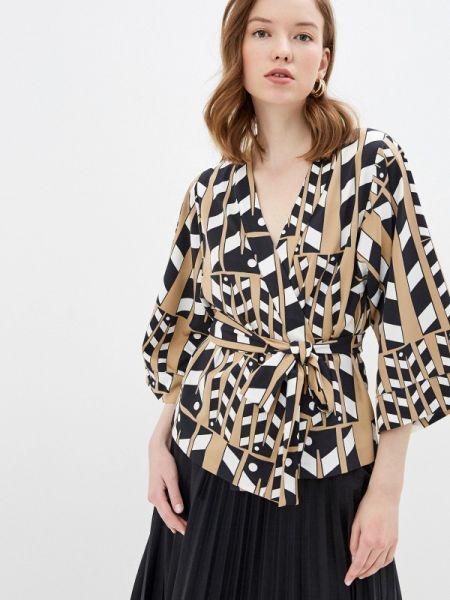 Блузка с длинным рукавом весенний бежевый United Colors Of Benetton