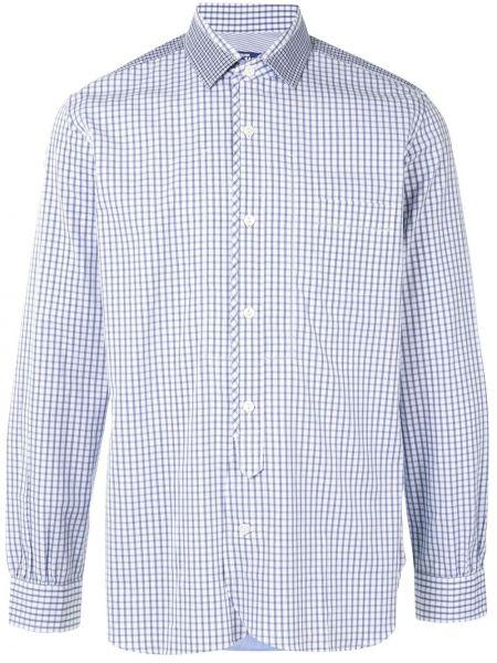 Классическая прямая рубашка с воротником на пуговицах Junya Watanabe Man