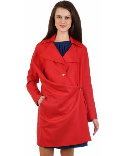 Шерстяное пальто - красное Vivienne Westwood