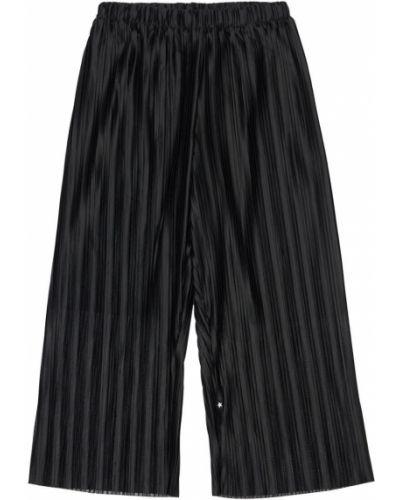 Czarny spodnie na gumce Molo