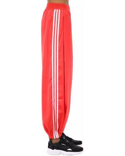 Спортивные брюки на резинке с лампасами Adidas Originals