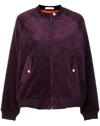 Куртка фиолетовый свободная Peter Jensen