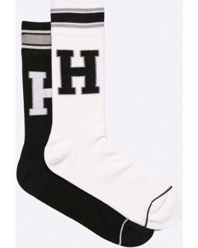 Białe skarpety bawełniane Tommy Hilfiger