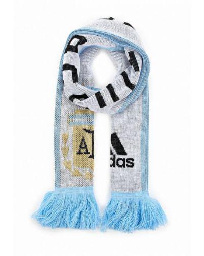 Голубой шарф Adidas
