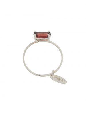 Серебряное кольцо с гранатом Wouters & Hendrix