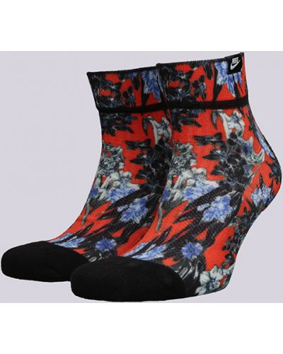 Носки красные хлопковые Nike