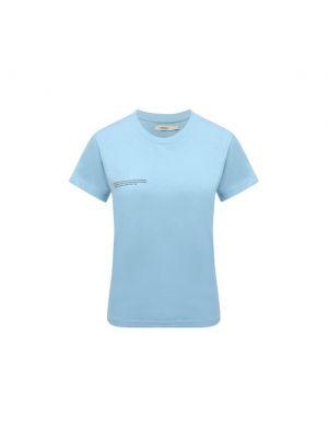 Хлопковая футболка - голубая Pangaia