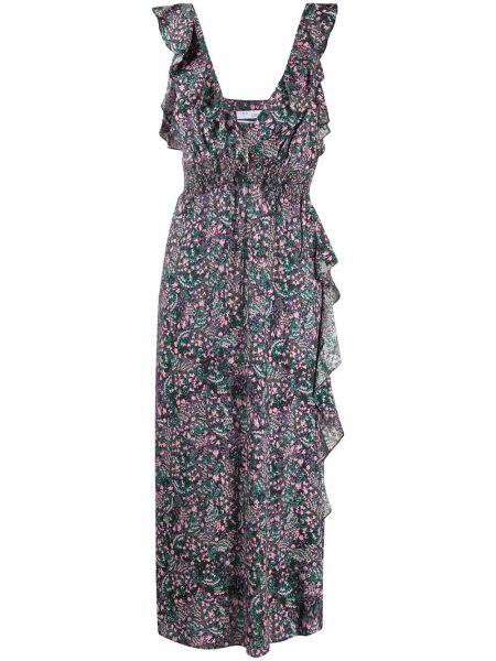 Платье макси с декольте с поясом Iro