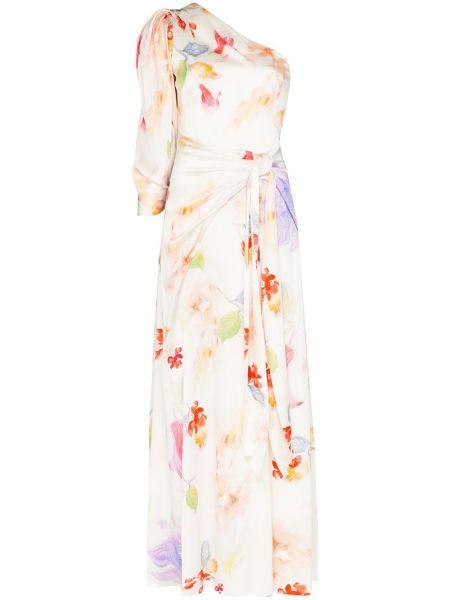 Вечернее платье с цветочным принтом на молнии Peter Pilotto