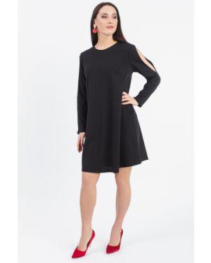 Платье с поясом на пуговицах трапеция Lacywear