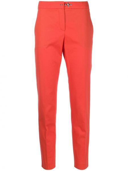 Укороченные брюки зауженные с завышенной талией Fay
