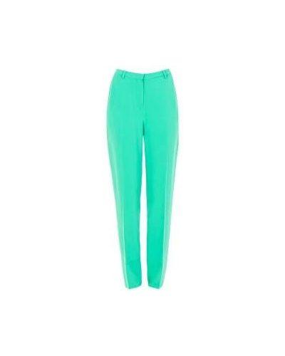 Повседневные зеленые брюки из вискозы Costume National