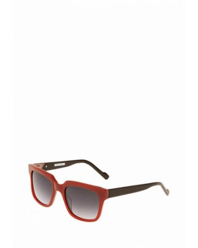 Солнцезащитные очки красный итальянский Enni Marco