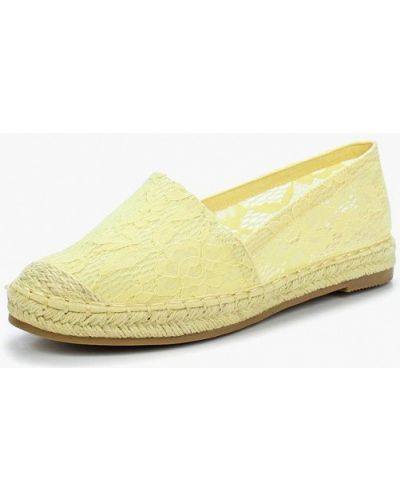 Желтые эспадрильи Sweet Shoes