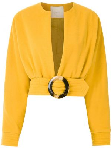 Свободное длинное пальто с капюшоном свободного кроя Framed