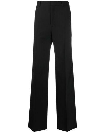Czarne spodnie Balenciaga