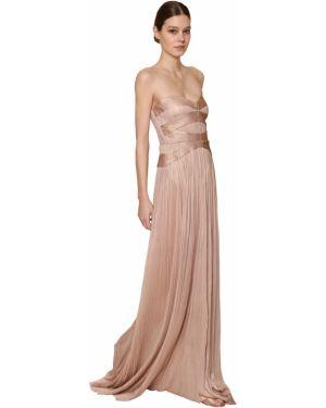 Платье из фатина - розовое Maria Lucia Hohan