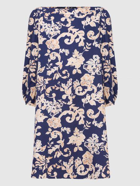 Платье миди - синее Max & Co