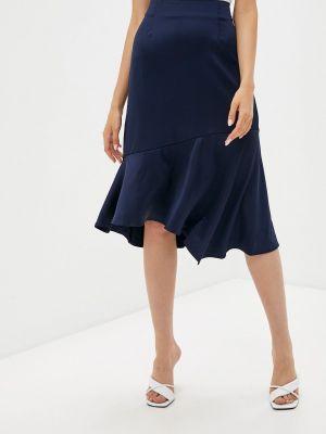 Синяя юбка осенняя Zibi London