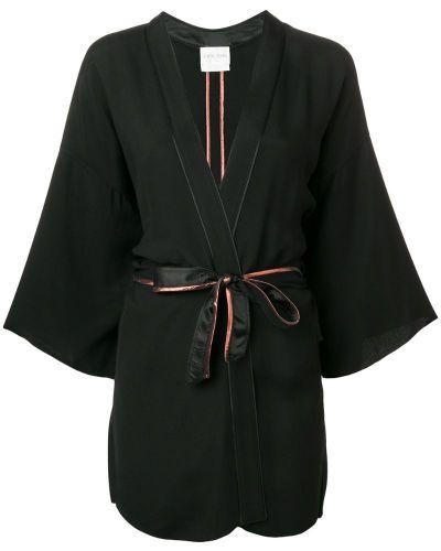 Черная короткая куртка Forte Forte