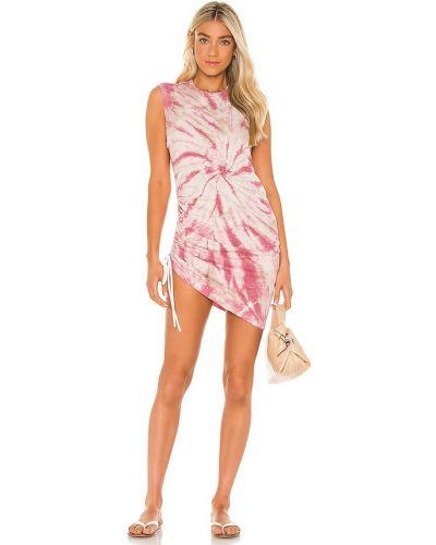 Хлопковое платье без рукавов с оборками Pam & Gela