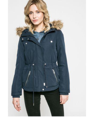 Утепленная куртка с капюшоном прямая Vero Moda