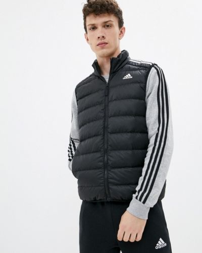 Черная жилет утепленный Adidas
