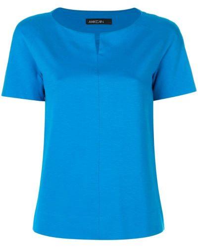 Синяя блузка Marc Cain