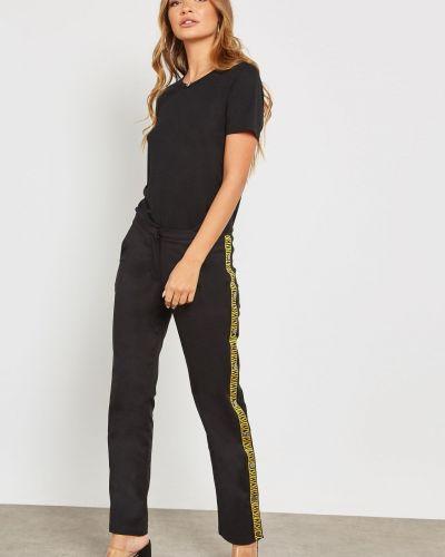 Широкие брюки - черные Na-kd