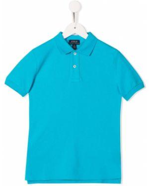 Koszula krótki rękaw - niebieska Ralph Lauren Kids