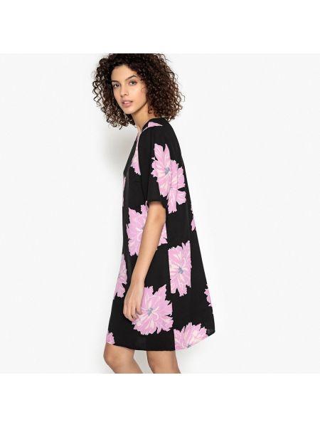 Платье мини с цветочным принтом прямое Vero Moda