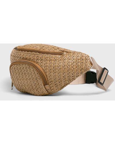 Поясная сумка маленькая бежевый Answear