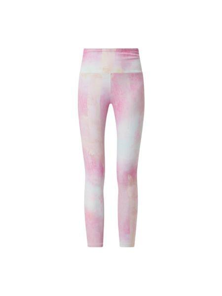 Różowe legginsy Reebok Active