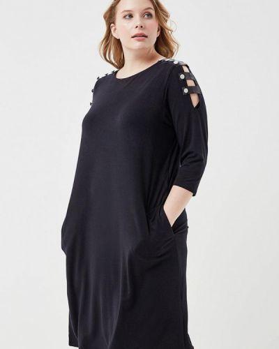 Черное платье весеннее Svesta