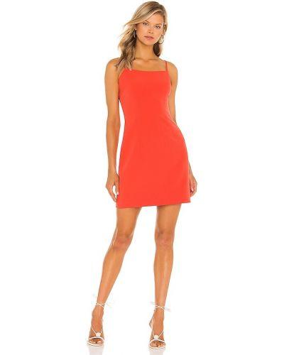 Pomarańczowa sukienka mini Milly