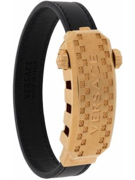 Кожаный браслет Versace