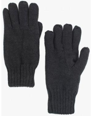 Перчатки текстильные черные Tom Tailor Denim