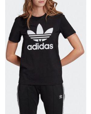 Футбольная черная футболка Adidas Originals