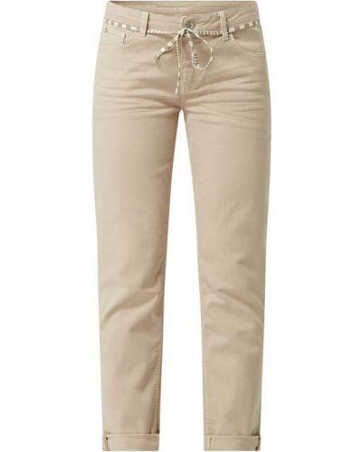 Różowe jeansy bawełniane Rosner