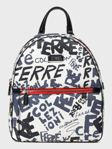 Кожаный рюкзак Ferre Collezioni