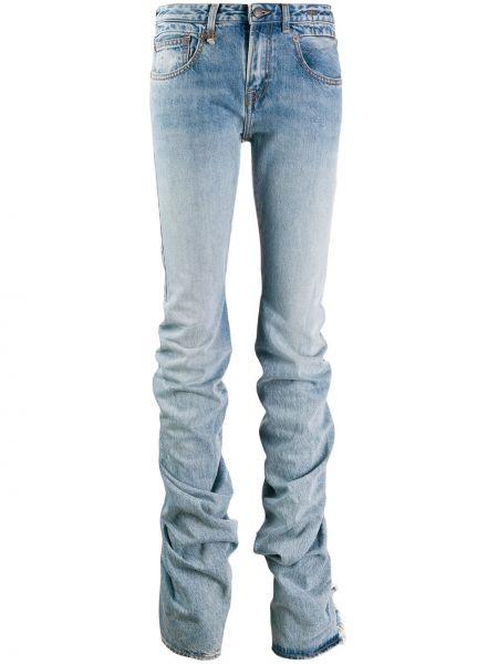 Расклешенные джинсы с карманами R13