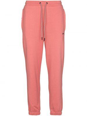 Укороченные брюки - розовые Reebok X Victoria Beckham