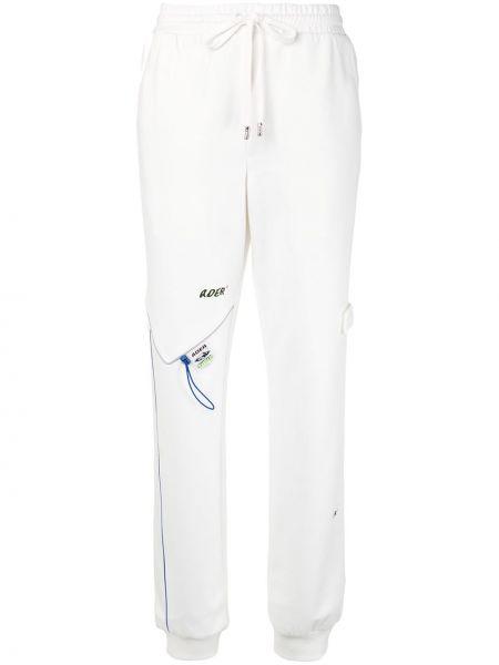 Białe spodnie bawełniane Ader Error