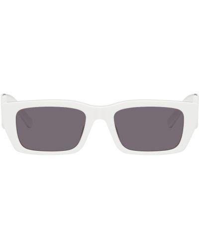 Белые солнцезащитные очки Palm Angels