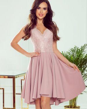 Ażurowa sukienka asymetryczna z wiskozy Numoco